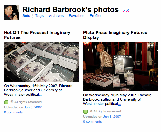 Richard's Flickr page
